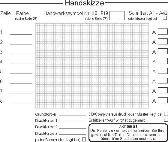 fsk-werbung.de - Musterschriften